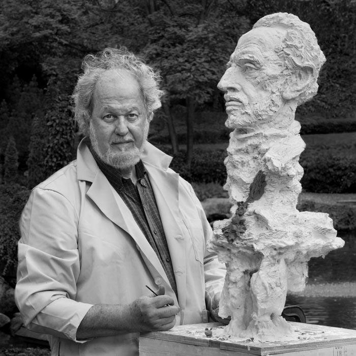 Portraitfotografie Stuttgart: American sculptor Greg Wyatt