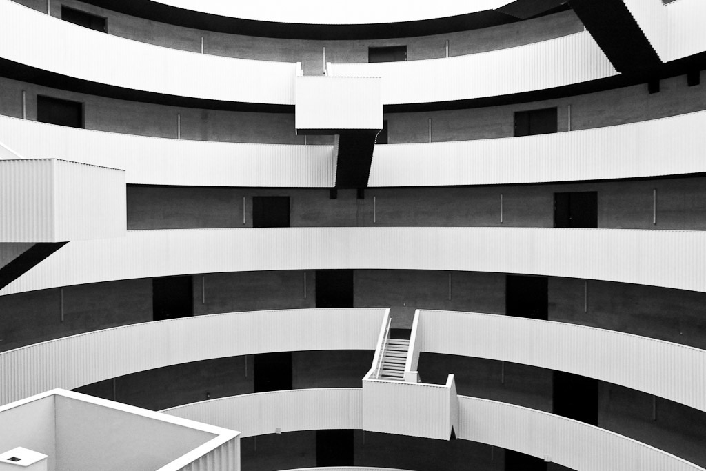 Architecture photography of building Gemini Residence in Copenhagen, JJW Arkitekter