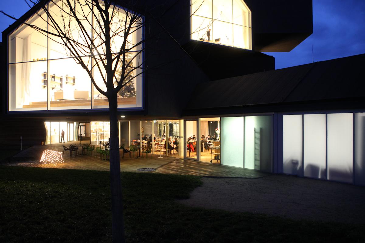 Fotografische Darstellung der Architekturdes Vitramuseums in Weil am Rhein, Architekt Frank Gehry