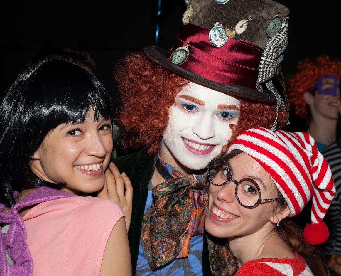 Photographien von der Kostüm Party Obligation Animation in Stuttgart, Yart Bar, Königstraße