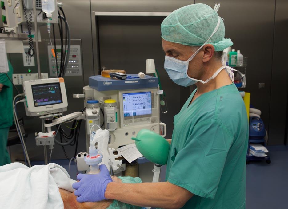 Anästhesie Fotos Medizinfotograf - SANA - Klinik -Stuttgart