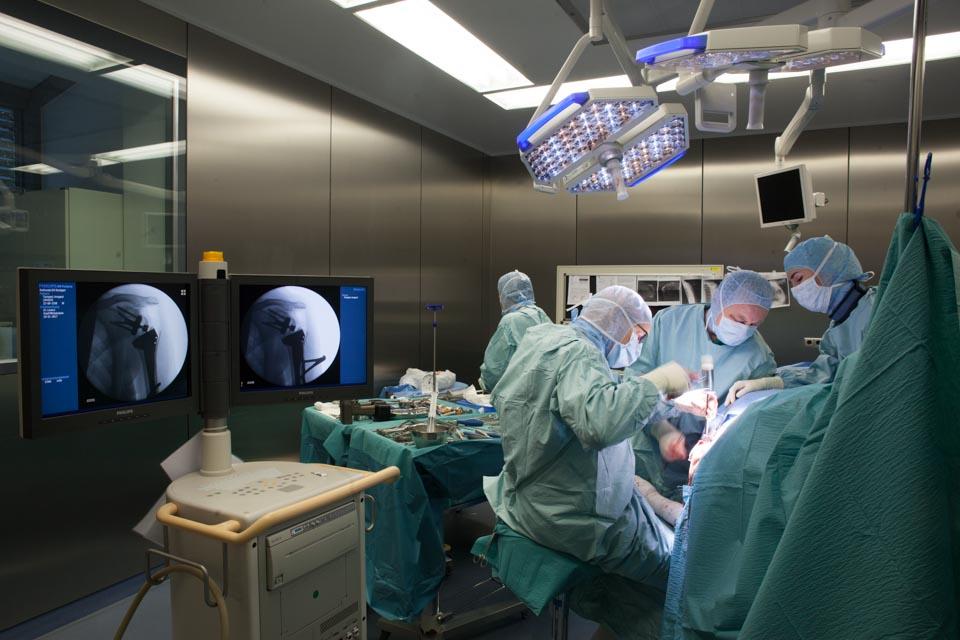 Medizinphotographie - SANA Klinik -Gelenkchirurgie, Arthroskopien, Endoprothetik und computergestützte Navigation
