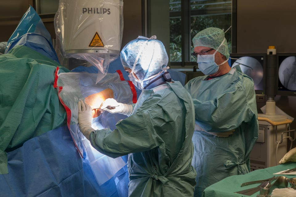 Medizinphotographie - Chirurgie SANA - Klinik -Stuttgart