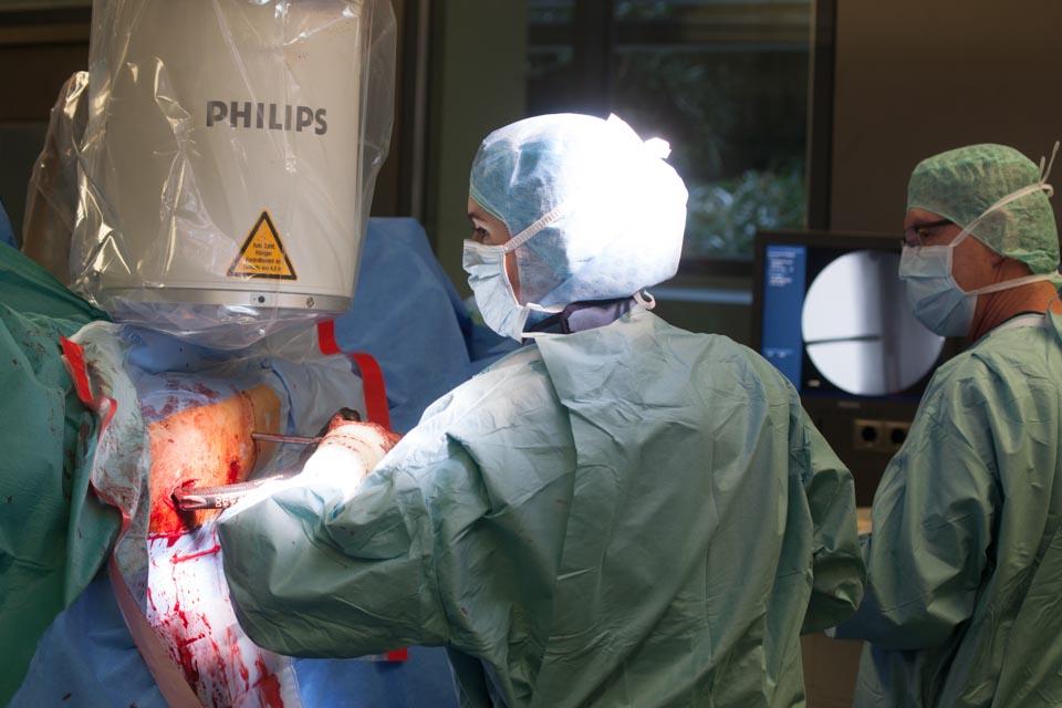 Chirurgie Klinik Stuttgart Image- und PR-Fotografie im Krankenhaus