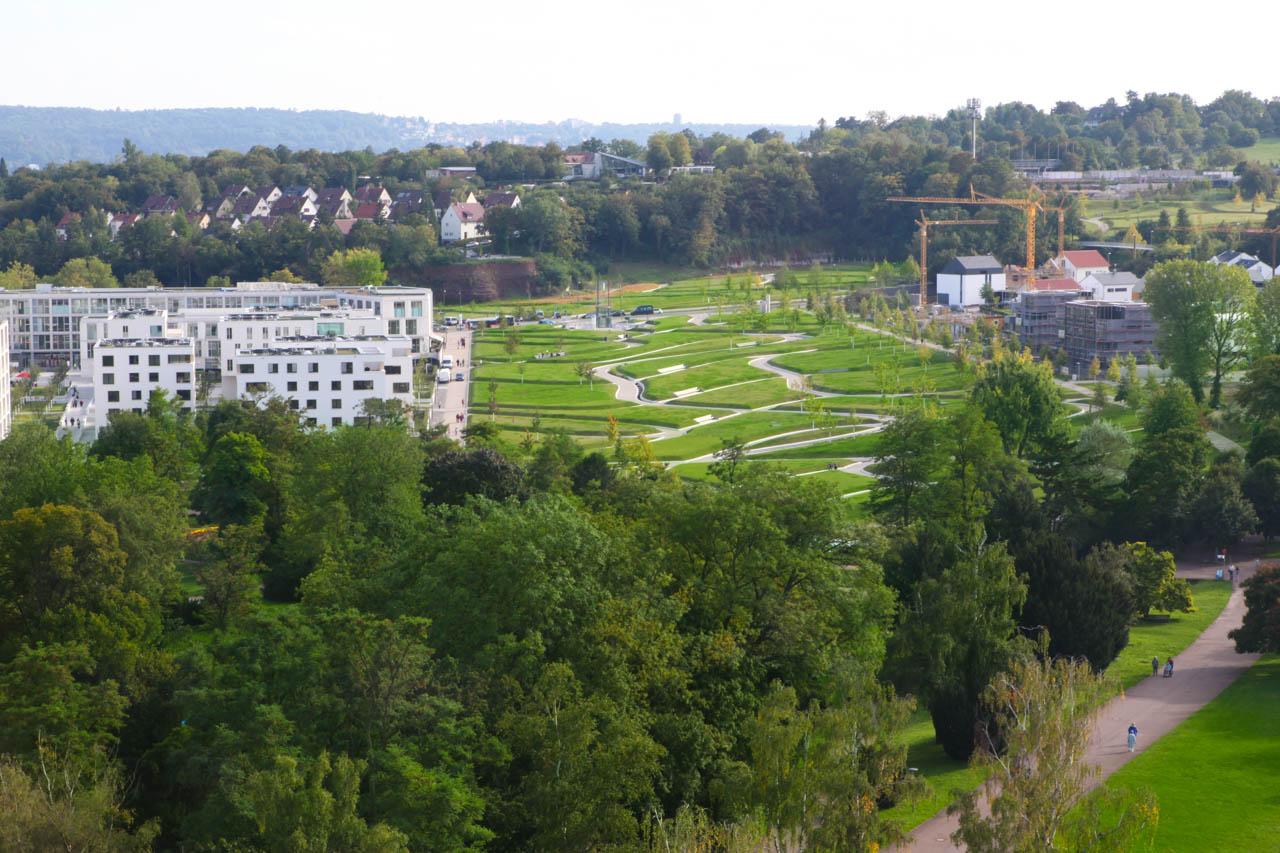 Foto Stuttgart: Wohnungssiedlung am Killesberger Höhenpark