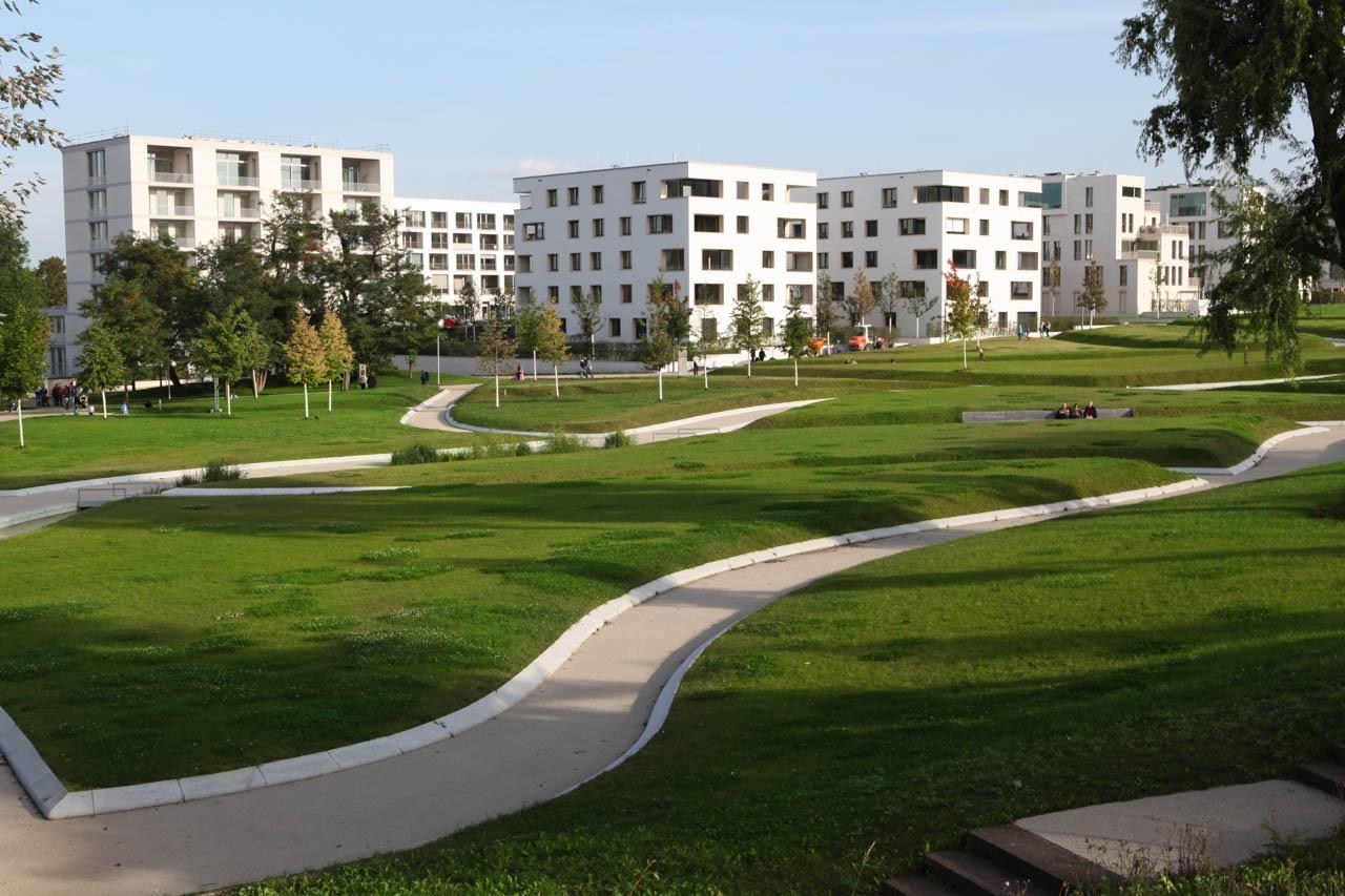 Wohnungssiedlung am Killesberger Höhenpark Foto Stuttgart